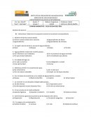 Examen diagnostico Asignatura Estatal
