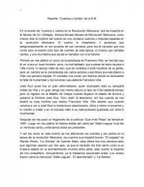036026c1e Cuentos y cantos de la Revolución Mexicana - Reseñas - carolinamg07