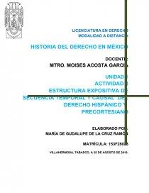 Actividad 3 Estructura Expositiva De Secuencia Temporal Y