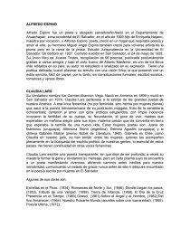 Alfredo Espino Claudia Lars Biografías Cauxy