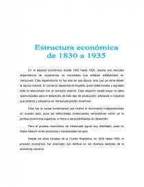 La Economia De Venezuela 1830 1935 Trabajos Cnralec