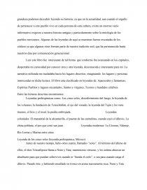 Surprising Resena De Una Obra Literaria Mitos Y Leyendas Mexicanas Complete Home Design Collection Papxelindsey Bellcom
