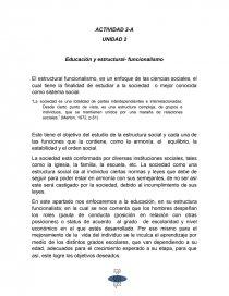 Educación Y Estructural Funcionalismo Tareas Vico92