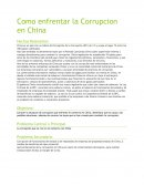 Como enfrentar la Corrupcion en China.