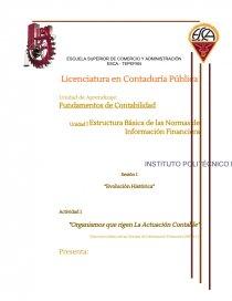 Sesión 1 Evolución Histórica Estructura Básica De Las