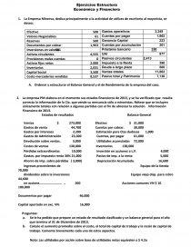 Ejercicios Estructura Económica Y Financiera Prácticas O
