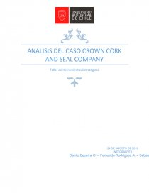 crown cork and seal in 1989