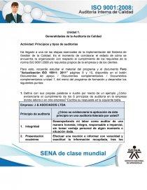 Actividad Semana 1 Auditoria Interna De Calidad Sena