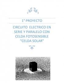 Circuito Electrico En Serie : Circuito electrico en serie y paralelo. ensayos felix solis