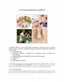 5 TIPS PARA CONTROLAR LA DIABETES