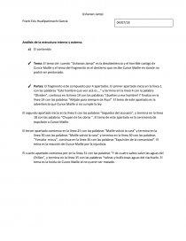 Análisis De La Estructura Interna Y Externa Resúmenes