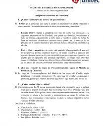 Gerencia De La Cultura Organizacional Preguntas Potenciales De Examen Ii Resumenes Francisco0511