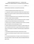EXAMEN FINAL EDUCACION FISICA SECUNDARIA